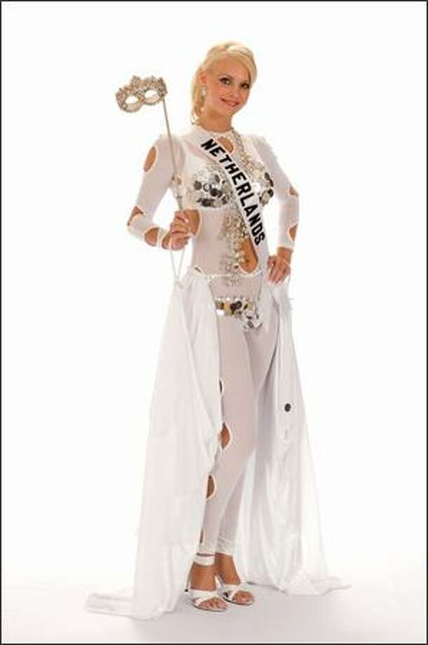 Charlotte Labee, Miss Netherlands 2008. Photo: Miss Universe L.P., LLLP