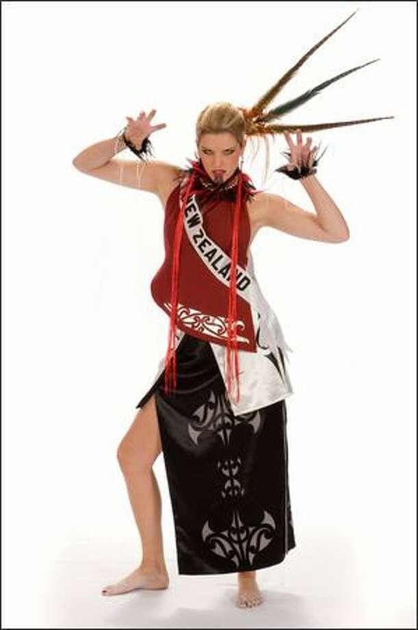 Samantha Powell, Miss New Zealand 2008. Photo: Miss Universe L.P., LLLP