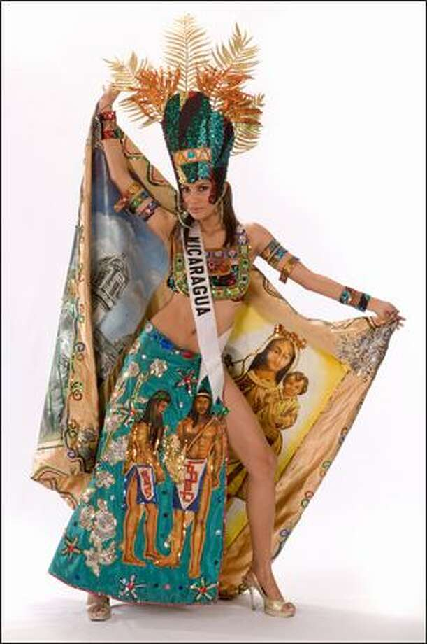 Thelma Rodriguez, Miss Nicaragua 2008. Photo: Miss Universe L.P., LLLP