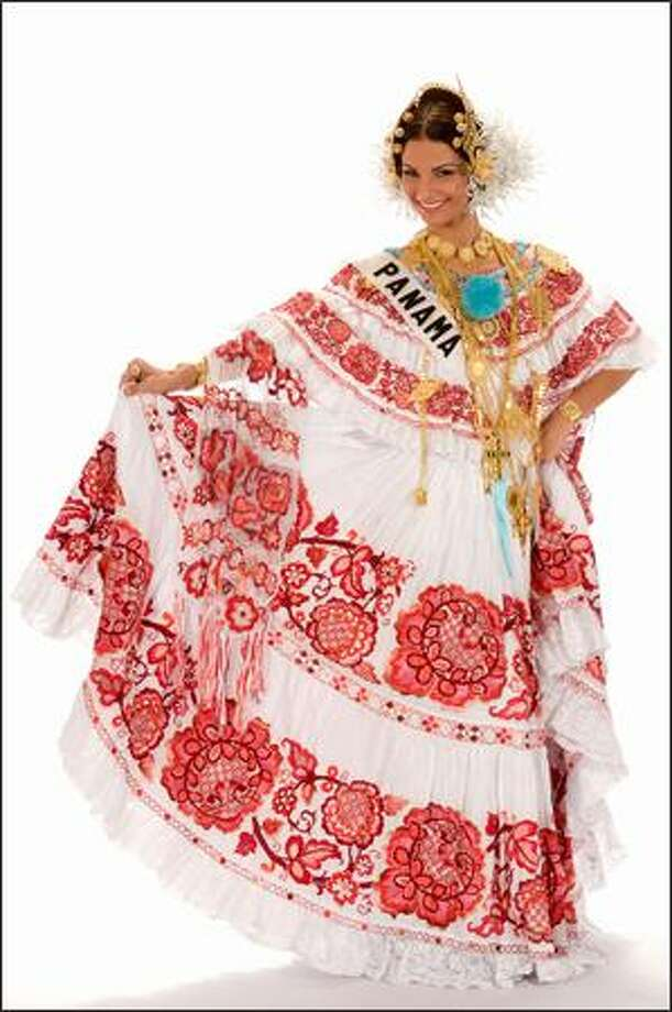 Carolina Dementiev Justavino, Miss Panama 2008. Photo: Miss Universe L.P., LLLP