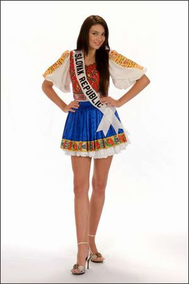 Sandra Manakova, Miss Slovak Republic 2008. Photo: Miss Universe L.P., LLLP