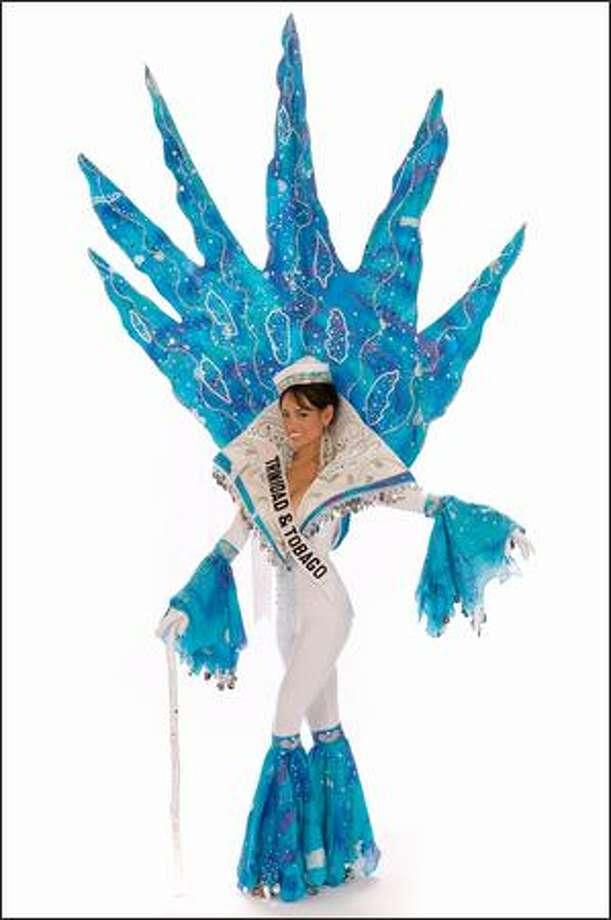 Anya Ayoung-Chee, Miss Trinidad & Tobago 2008. Photo: Miss Universe L.P., LLLP