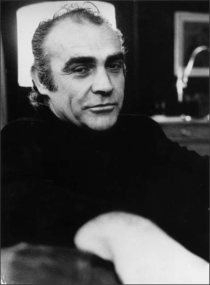 January 12, 1973: Scottish actor Sean Connery, best known for his role in seven of the James Bond films. Photo: Getty Images