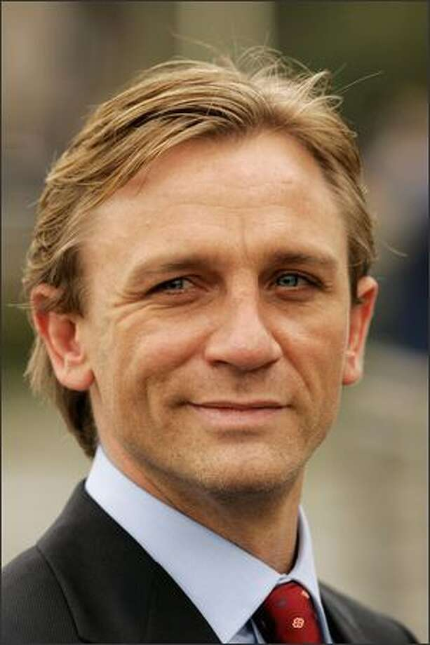 Actor Daniel Craig on October 14, 2005 in London, England. Photo: Getty Images