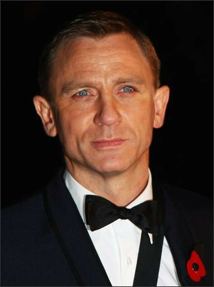 Daniel Craig attends the premiere of 'Quantum of Solace' held at the Odeon Leicester Square on October 29, 2008 in London, England. Photo: Getty Images
