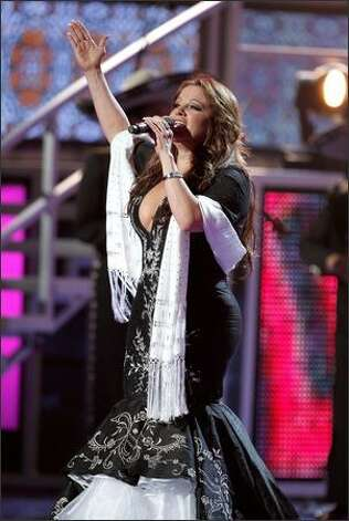 Singer Jenni Rivera performs. Photo: Getty Images