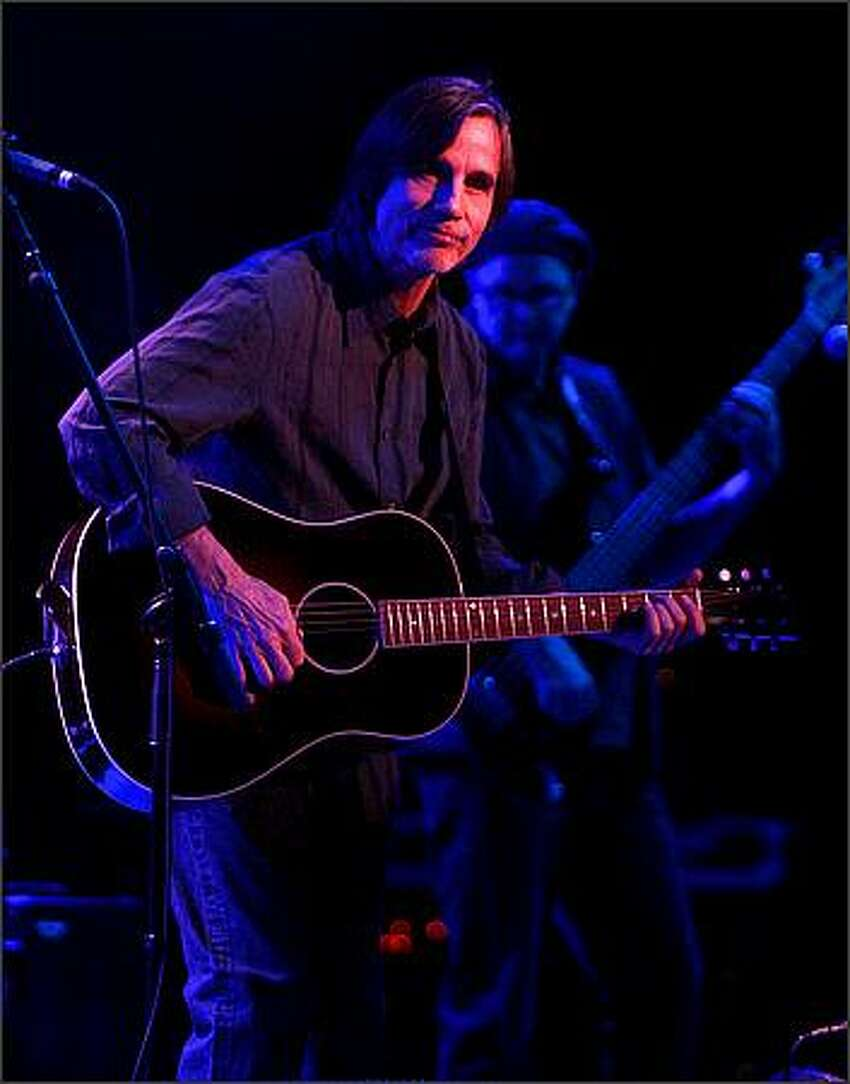 Jackson Browne at McCaw Hall in Seattle.