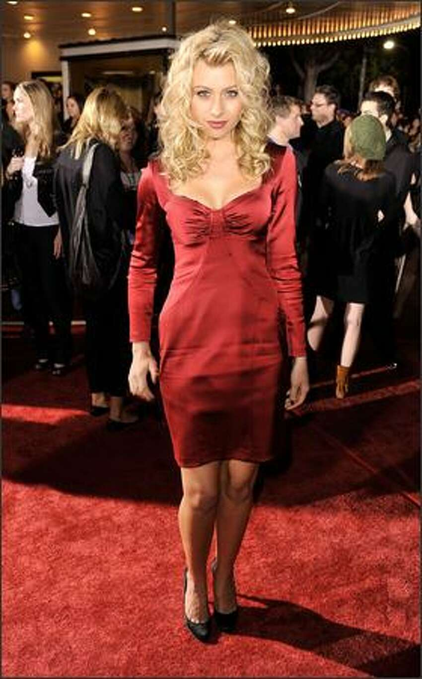 Singer Alyson Michalka arrives at the film premiere of Summit Entertainment's