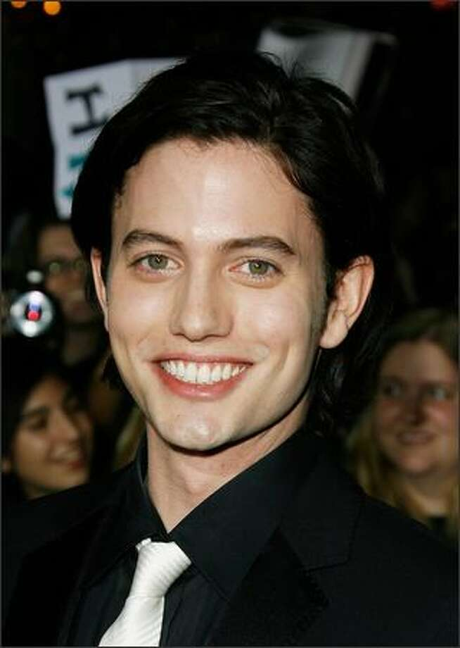 "Actor Jackson Rathbone (Jasper Hale) attends the premiere of ""Twilight,"" back when he was just a fresh baby-face on the scene.  (Getty Images) Photo: Getty Images"