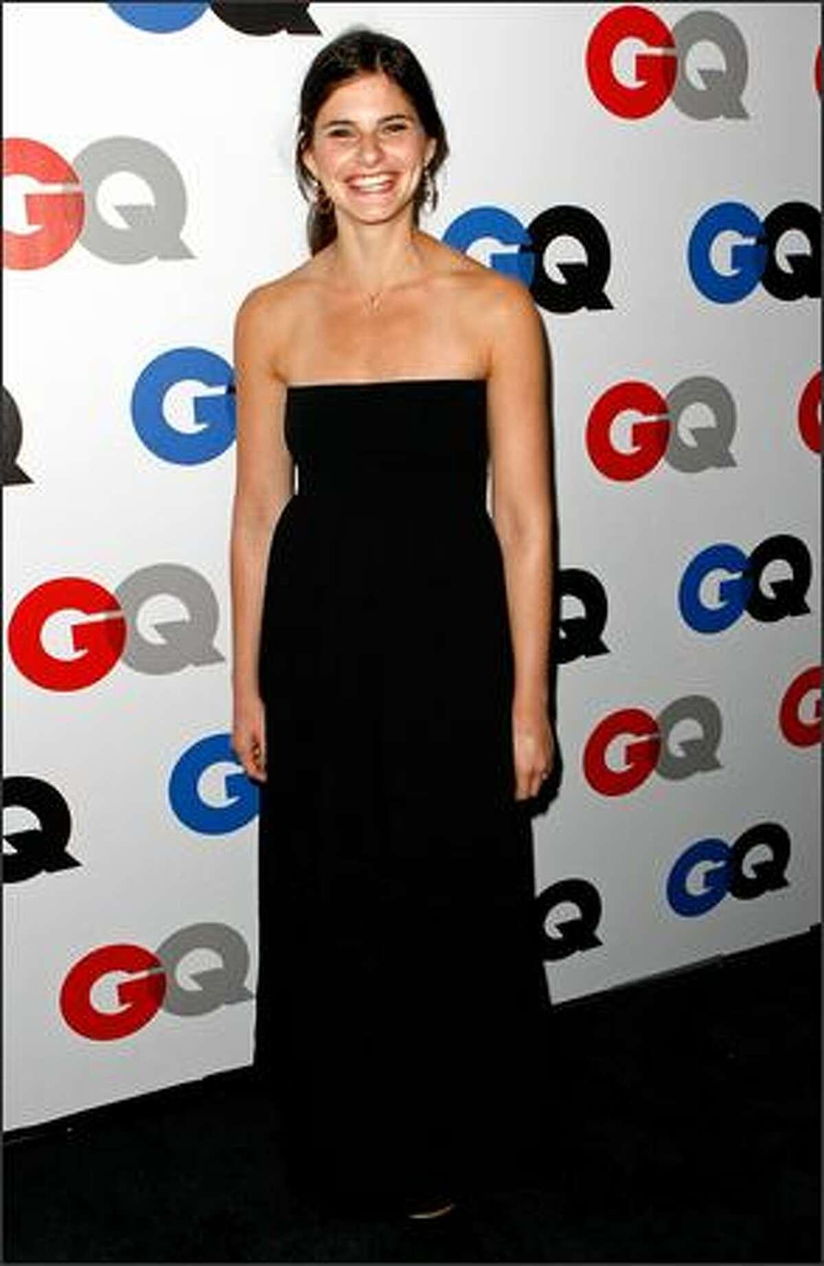 Actress Lindsey Kraft arrives.
