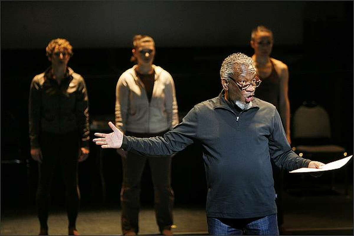 Artistic Director Donald Byrd and members of the Spectrum Dance Theatre perform