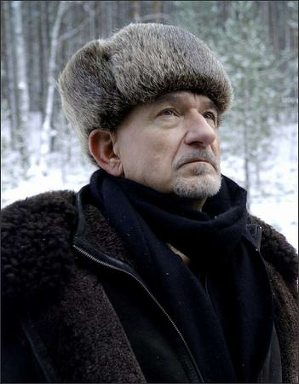 """Ben Kingsley plays Russian Detective Grinko searching for an illegal heroine being smuggled on the Transsiberian Train from Shanghai to Moscow in the feature film, """"Transsiberian."""""""