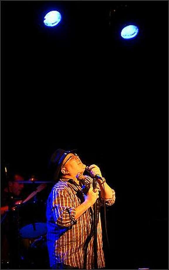 Frontman John Popper and Blues Traveler perform at the Showbox at the Market. Photo: Scott Eklund, Seattle Post-Intelligencer