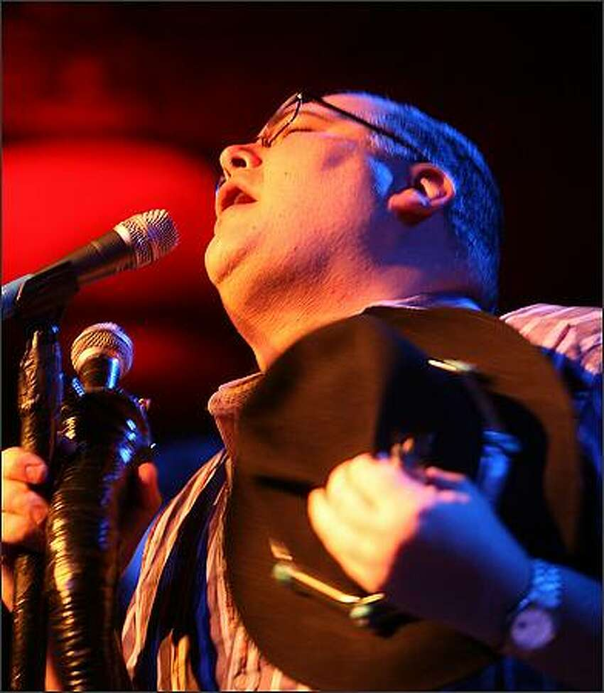 Frontman John Popper and Blues Traveler perform at the Showbox at the Market.