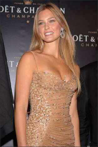 Israeli supermodel Bar Refaeli, 23, is No. 2 on the list. Refaeli is a former Sports Illustrated swimsuit model and the girlfriend of actor Leonardo DiCaprio. Photo: Getty Images