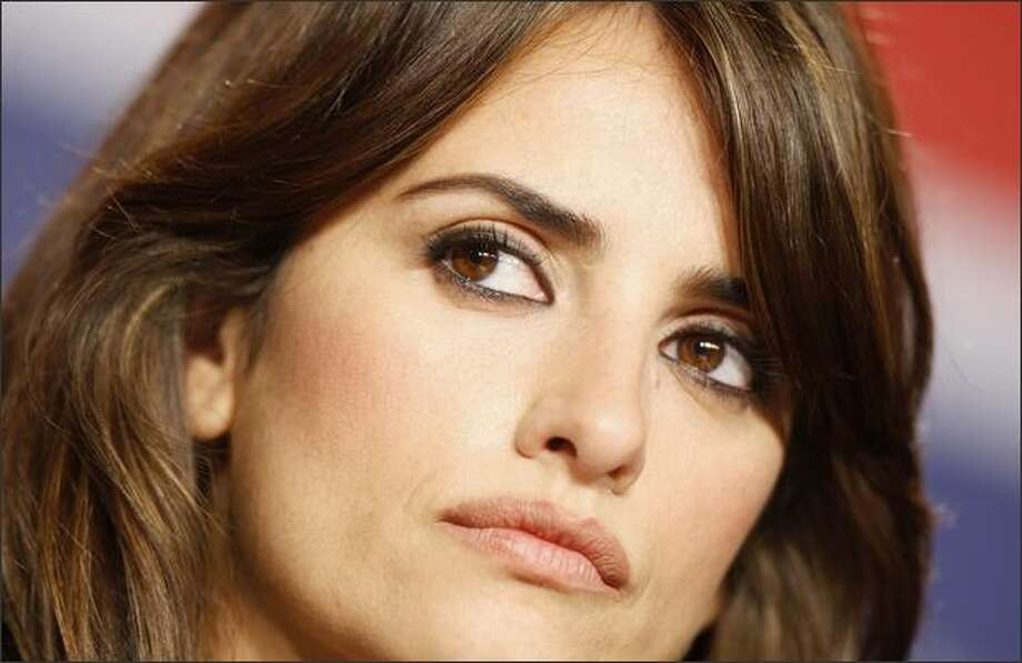 Spanish actress Penelope Cruz, 34, is No. 8. Photo: Getty Images