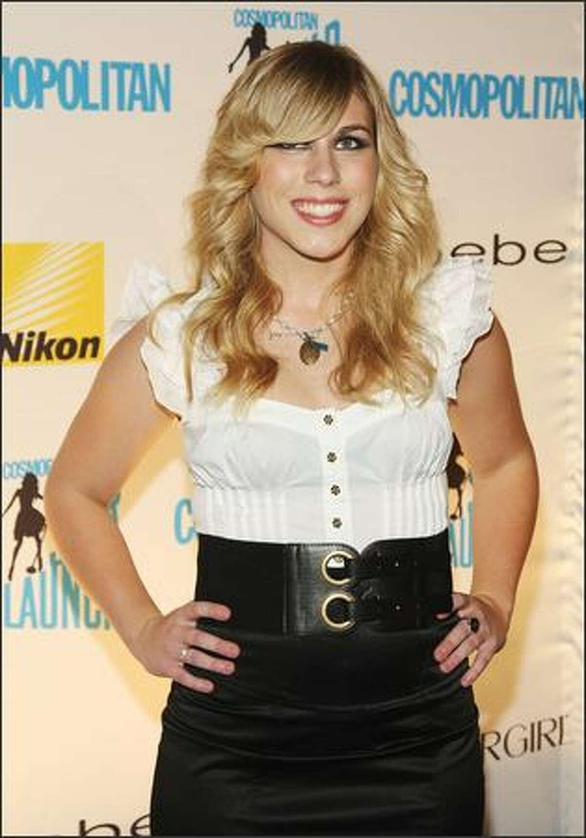 Singer Alexa Wilkinson attends the Starlaunch Finale concert.