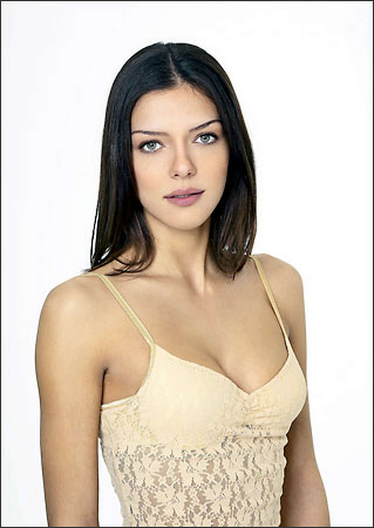 """""""America's Next Top Model"""" participant Adrianne Curry."""