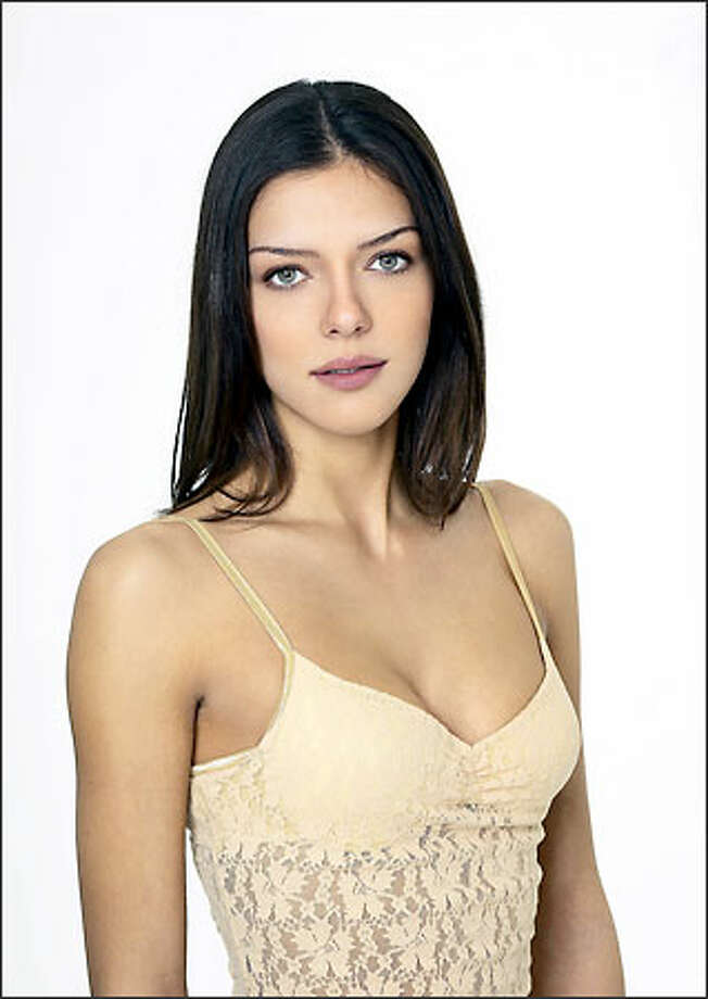 """America's Next Top Model"" participant Adrianne Curry. Photo: UPN"