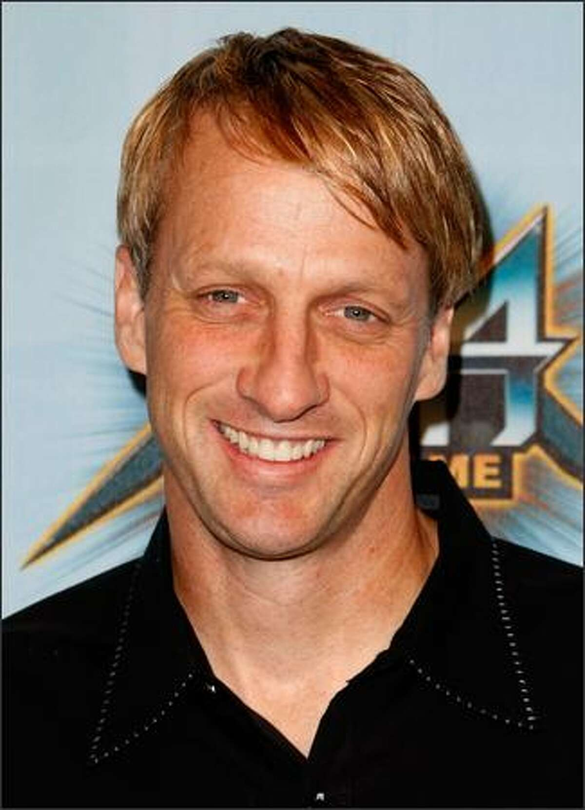 """Pro Skater Tony Hawk arrives at Spike TV's 2008 """"Video Game Awards"""" held at Sony Pictures' Studios on Sunday in Culver City, Calif."""