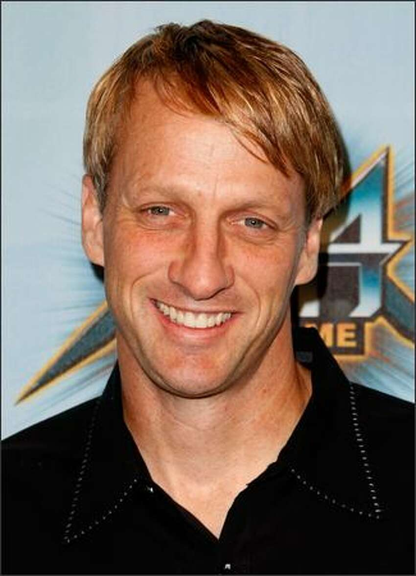 Pro Skater Tony Hawk arrives at Spike TV's 2008