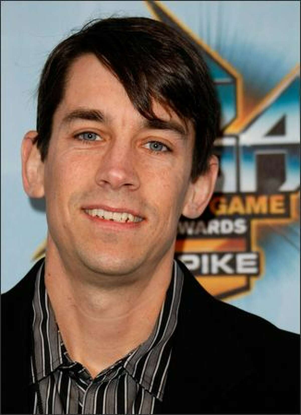 """President and CEO of Insomniac Games Ted Price arrives at Spike TV's 2008 """"Video Game Awards"""" held at Sony Pictures' Studios on Sunday in Culver City, Calif."""