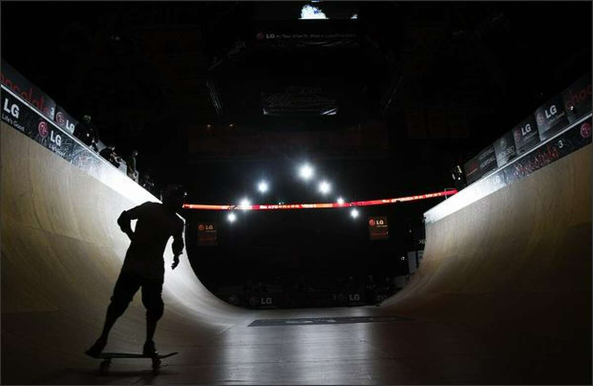 The LG Action Sports World Championships came to KeyArena on Saturday.