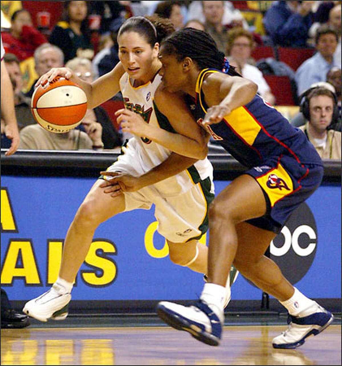 An ailing Sue Bird managed just seven points for the Storm, who got plenty of offense elsewhere in its third consecutive victory.