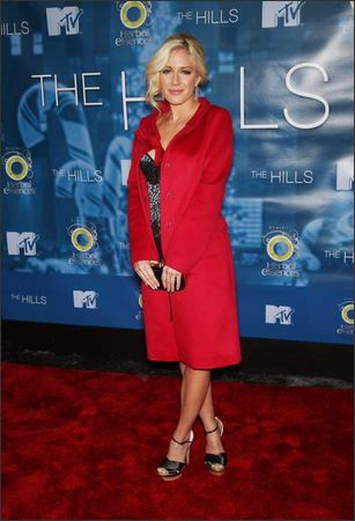 TV personality Heidi Montag attends the season 4 finale of MTV's