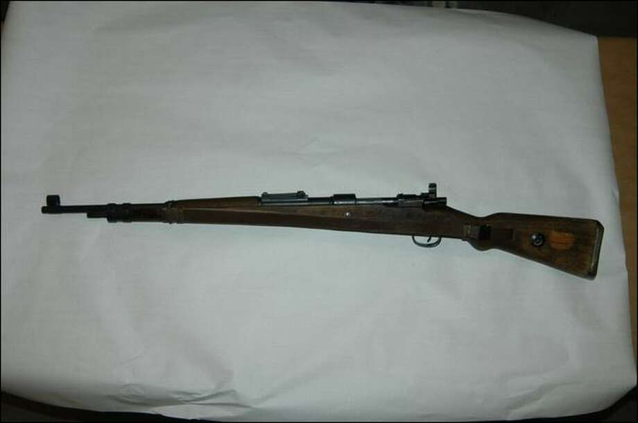 Miles Murphy's World War II-vintage rifle was seized by police for safekeeping for two months in 2006.