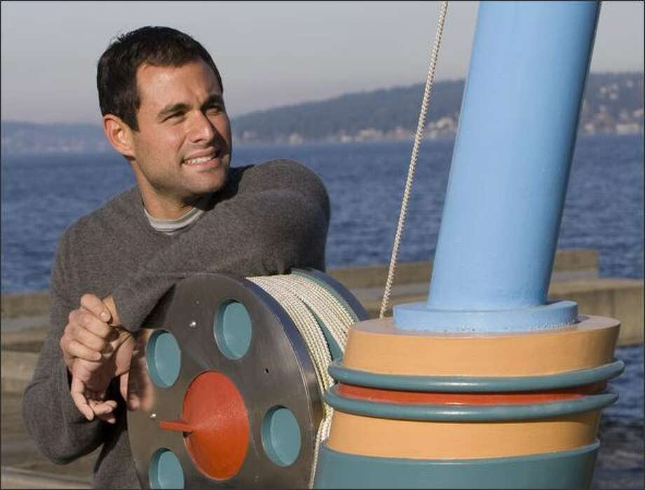"""Jason Mesnick says he doesn't use pick-up lines. """"I'm just too transparent as a person. You don't want to go out with me, I hope you're going to tell me."""" Photo: Grant M. Haller/Seattle Post-Intelligencer"""