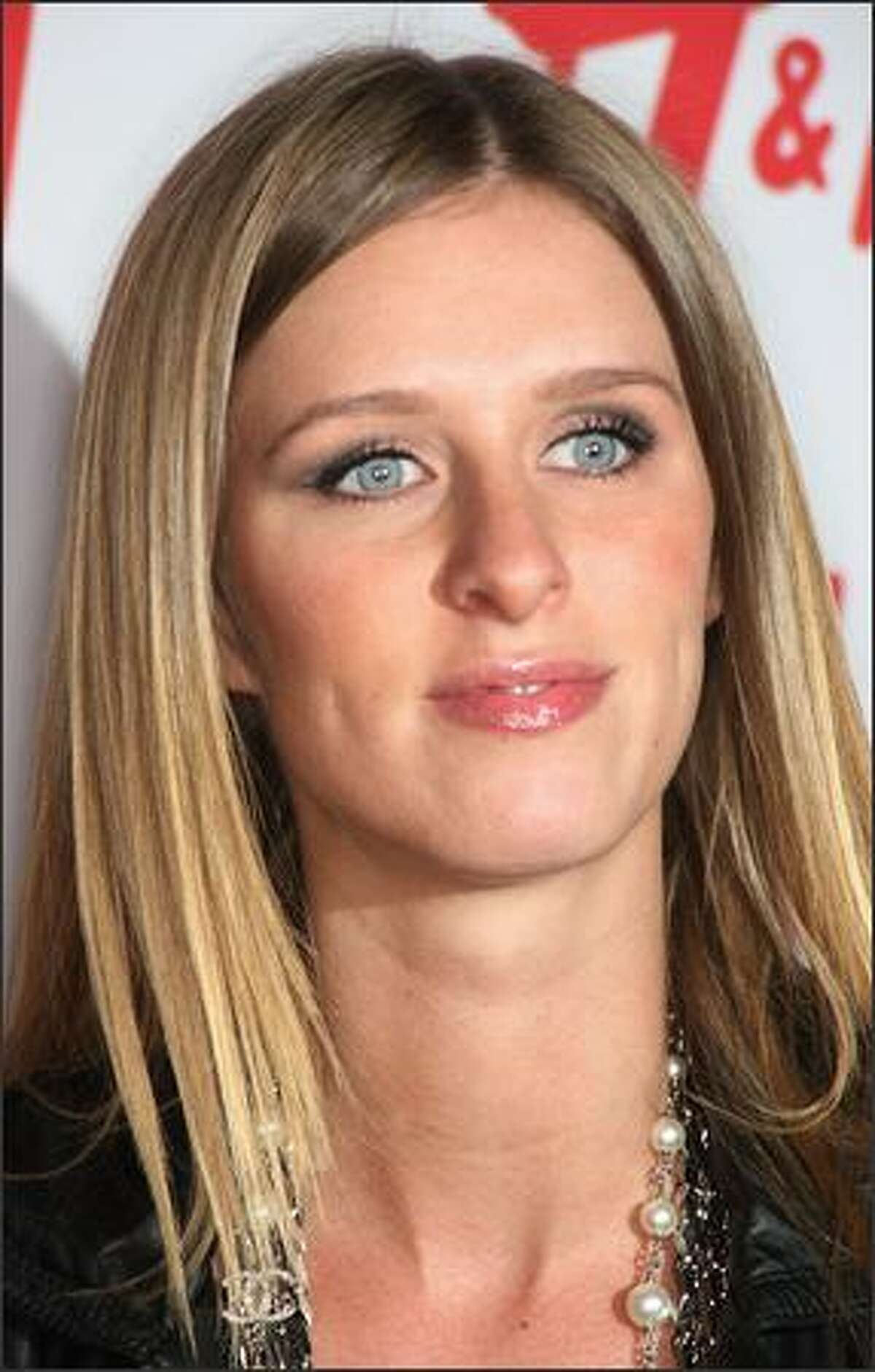 Nicky Hilton attends H&M's Divided Exclusive Collection launch party on Tuesday in West Hollywood, Calif.
