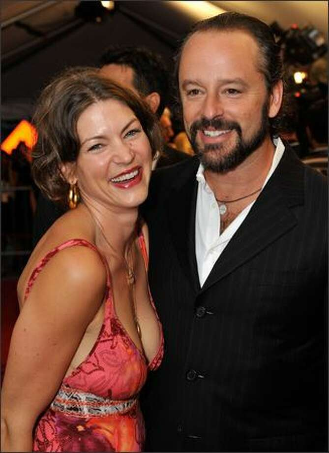 "Actor Gil Bellows (R) and wife Rya Kihlstedt attend the ""Passchendaele"" Opening Night Gala world premiere screening during the 2008 Toronto International Film Festival held at the Roy Thomson Hall on Thursday in Toronto, Canada. Photo: Getty Images"