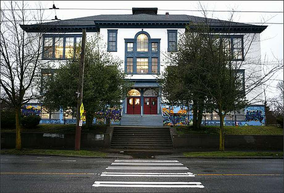 Seattle Public Schools Superintendent Maria Goodloe-Johnson is proposing closing five school buildings, including the Mann building, which houses Nova Alternative High School. Photo: Joshua Trujillo/Seattle Post-Intelligencer