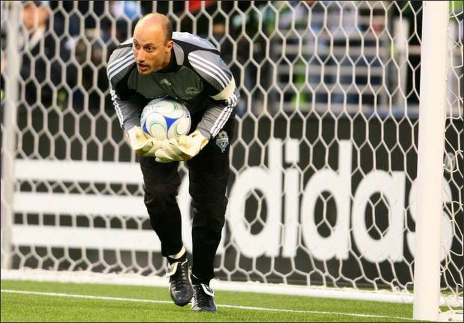 Sounders goalkeeper Kasey Keller. Photo: Joshua Trujillo, Seattlepi.com