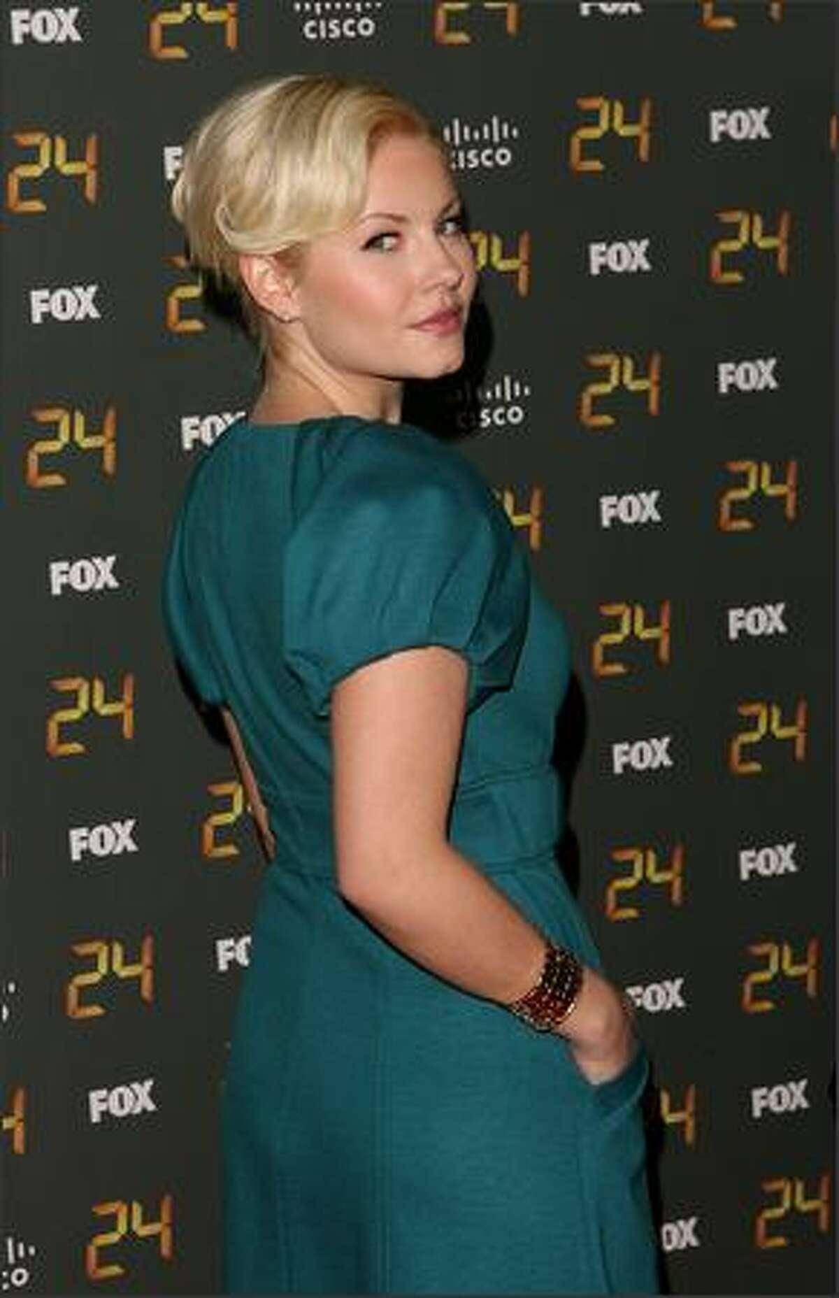 Actress Elisha Cuthbert arrives at the