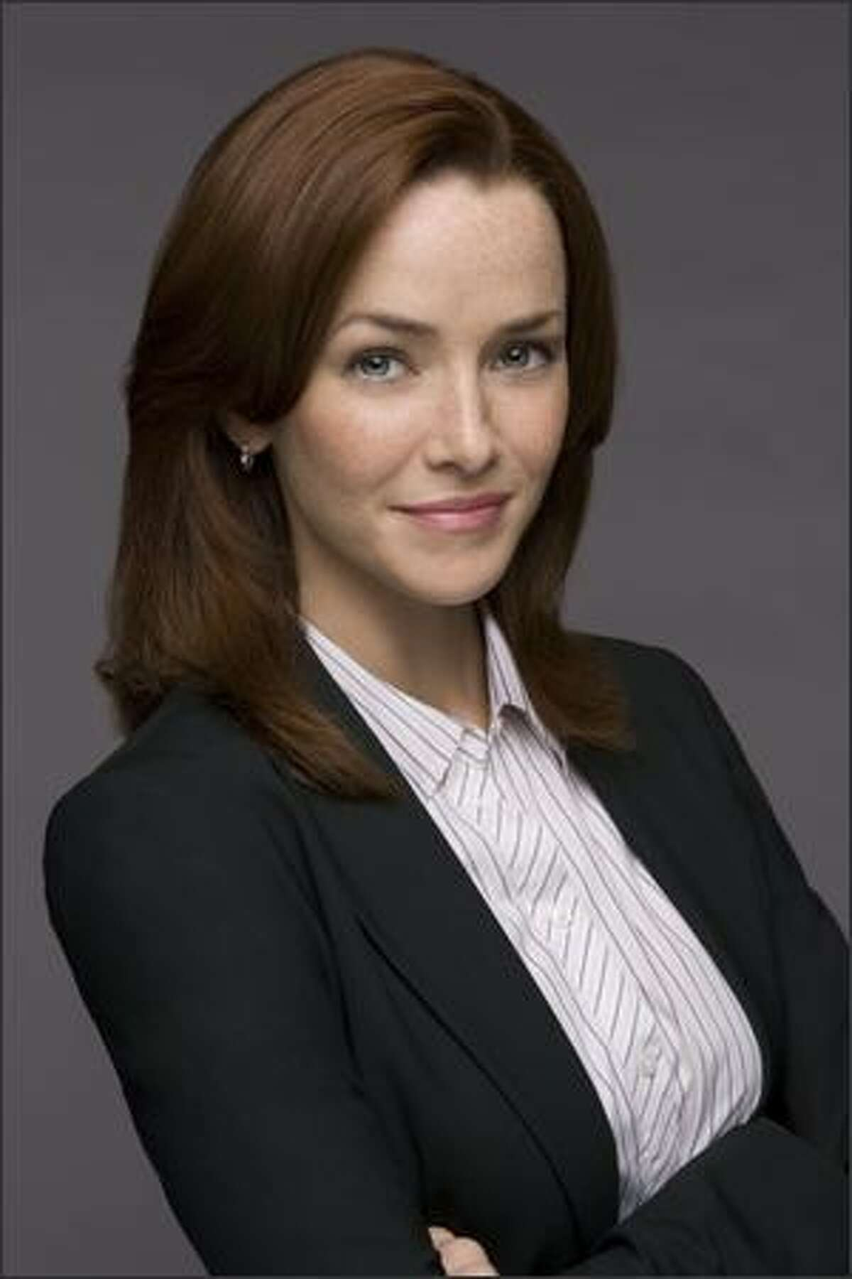 Annie Wersching as FBI Agent Renee Walker. The clock is ticking for