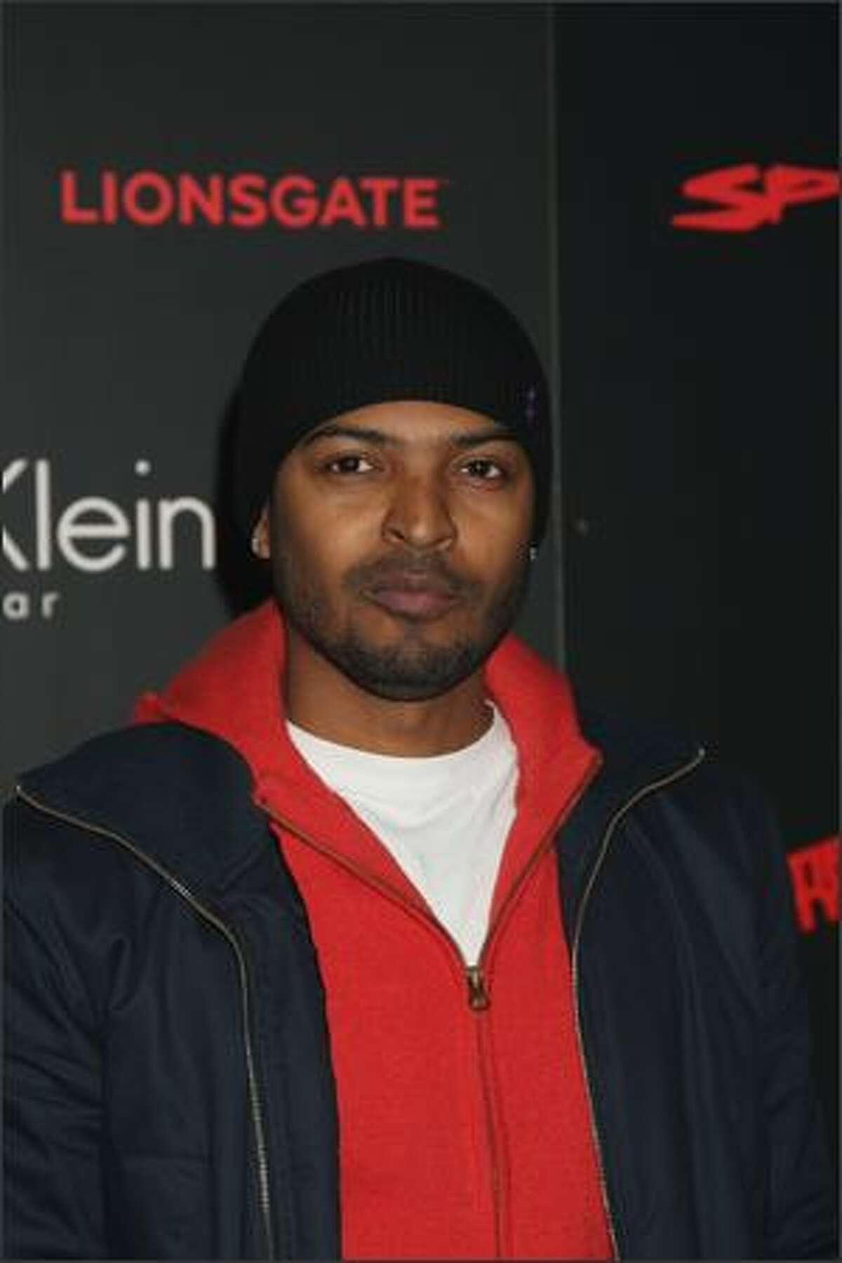 Noel Clarke attends The Spirit launch party in London, England.