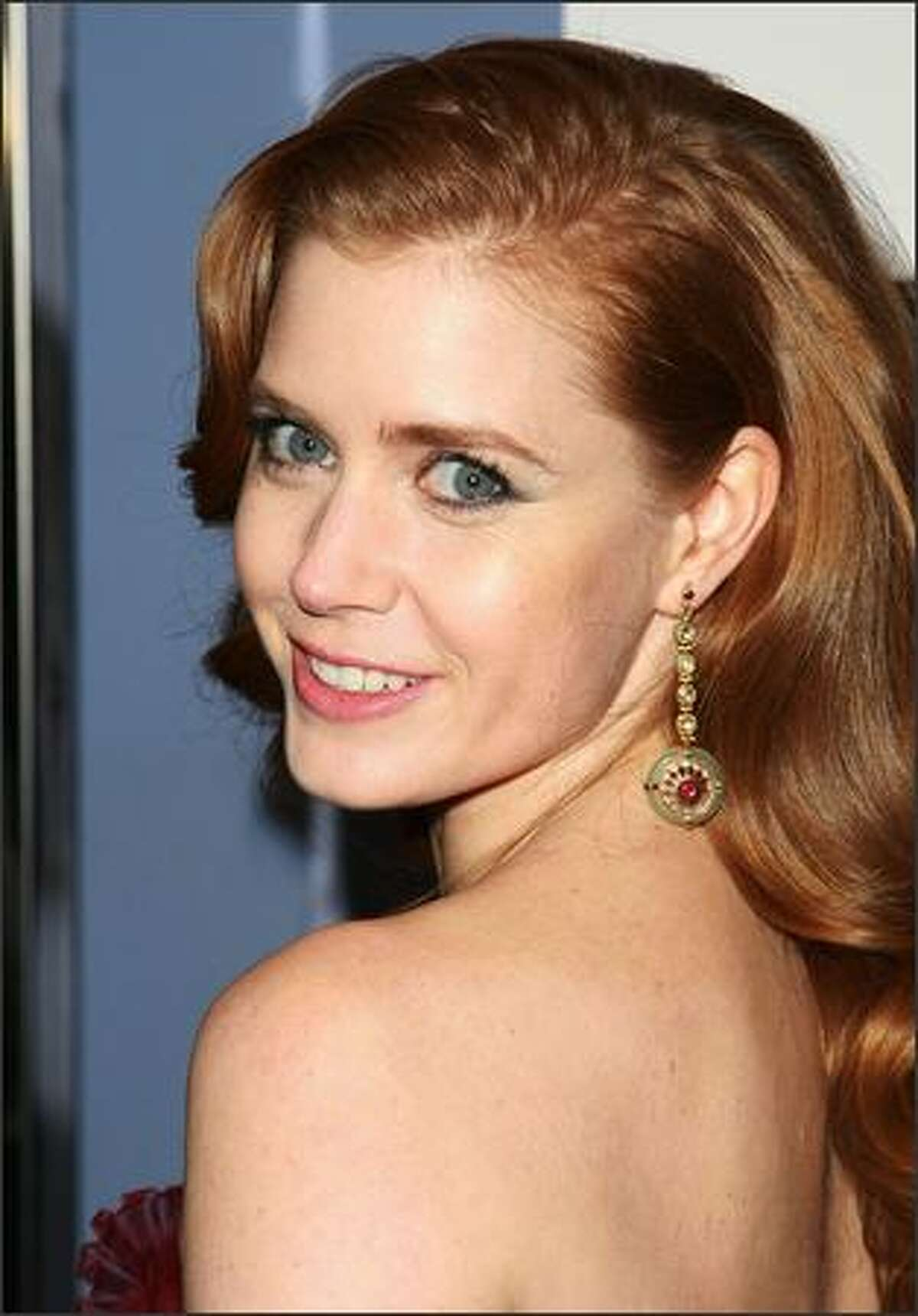 Actress Amy Adams attends the premiere of