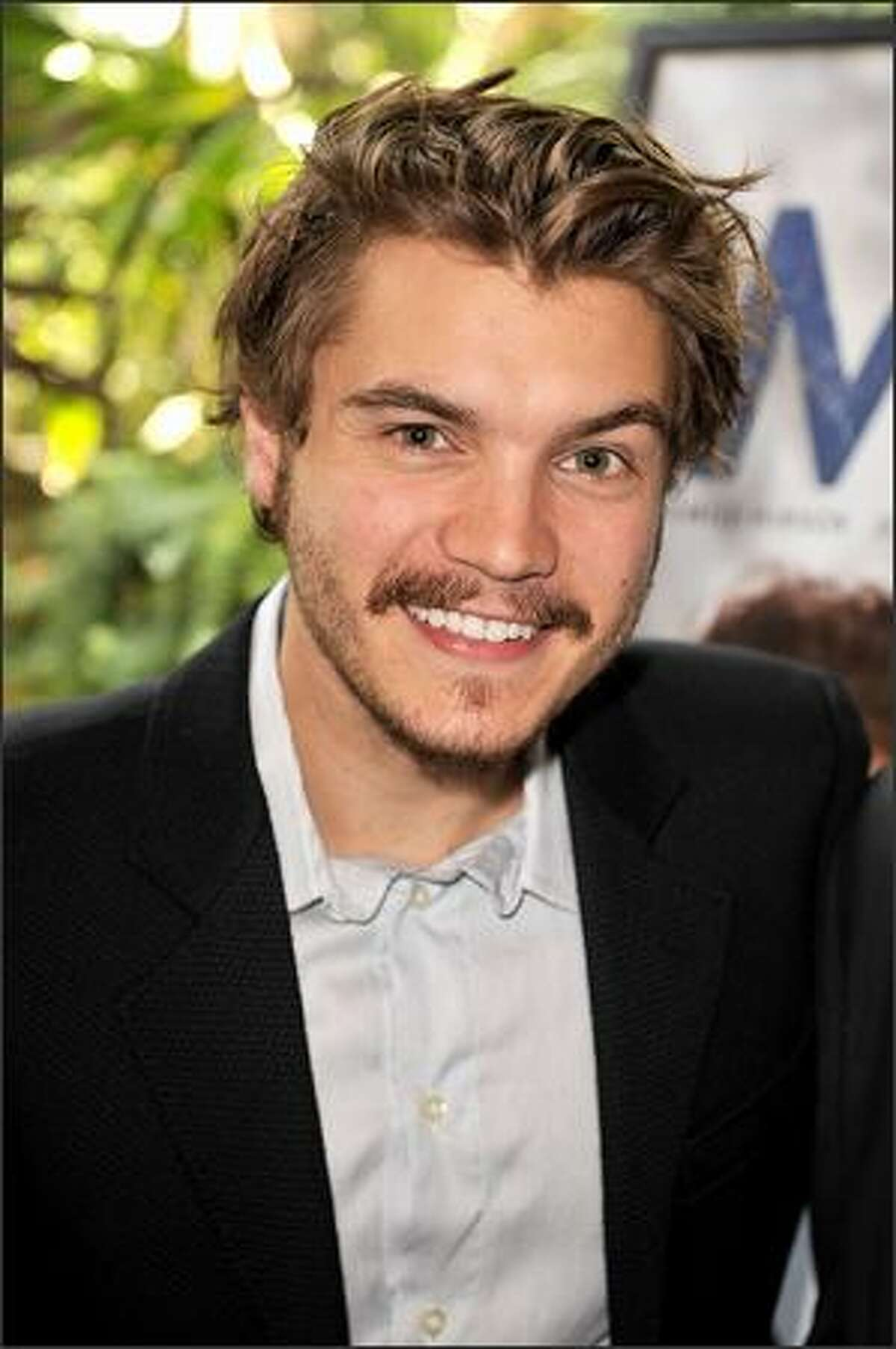 Actor Emile Hirsch arrives at the AFI Awards 2008 held at the Four Seasons Hotel in Los Angeles on Friday.