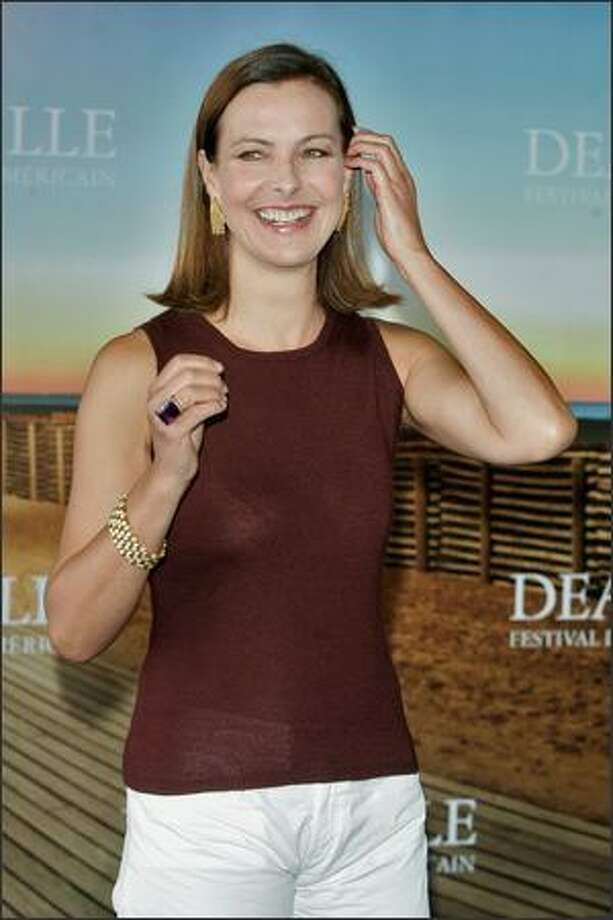 Head of the jury, French actress Carole Bouquet arrives at a jury photocall during the 34th Deauville Film Festival on Monday in Deauville, France. Photo: Getty Images