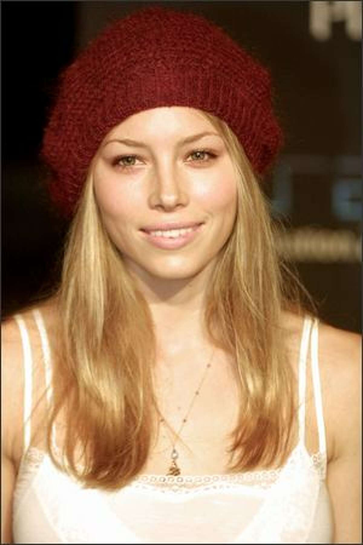 Jessica Biel attends the Playstation 2 One Year Anniversary Party in Los Angeles, Oct. 18, 2001.