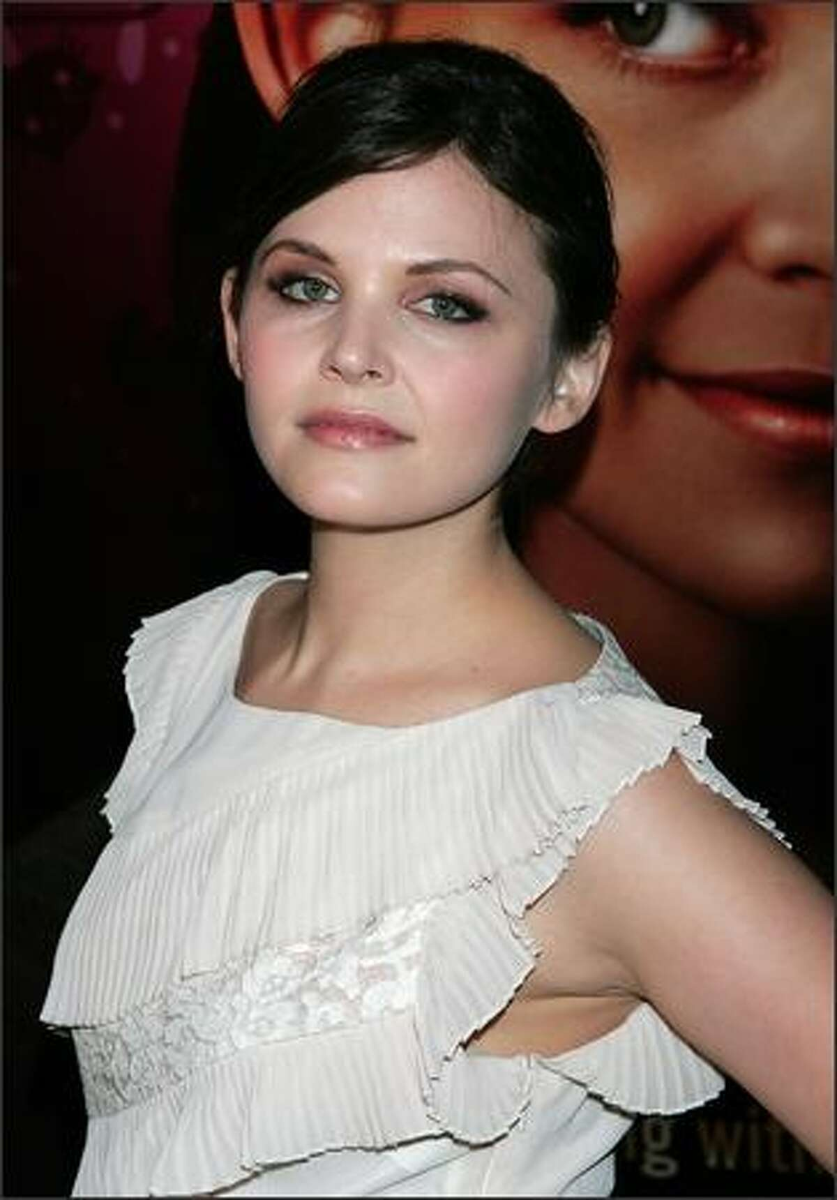 Actress Ginnifer Goodwin attends the premiere of HBO's