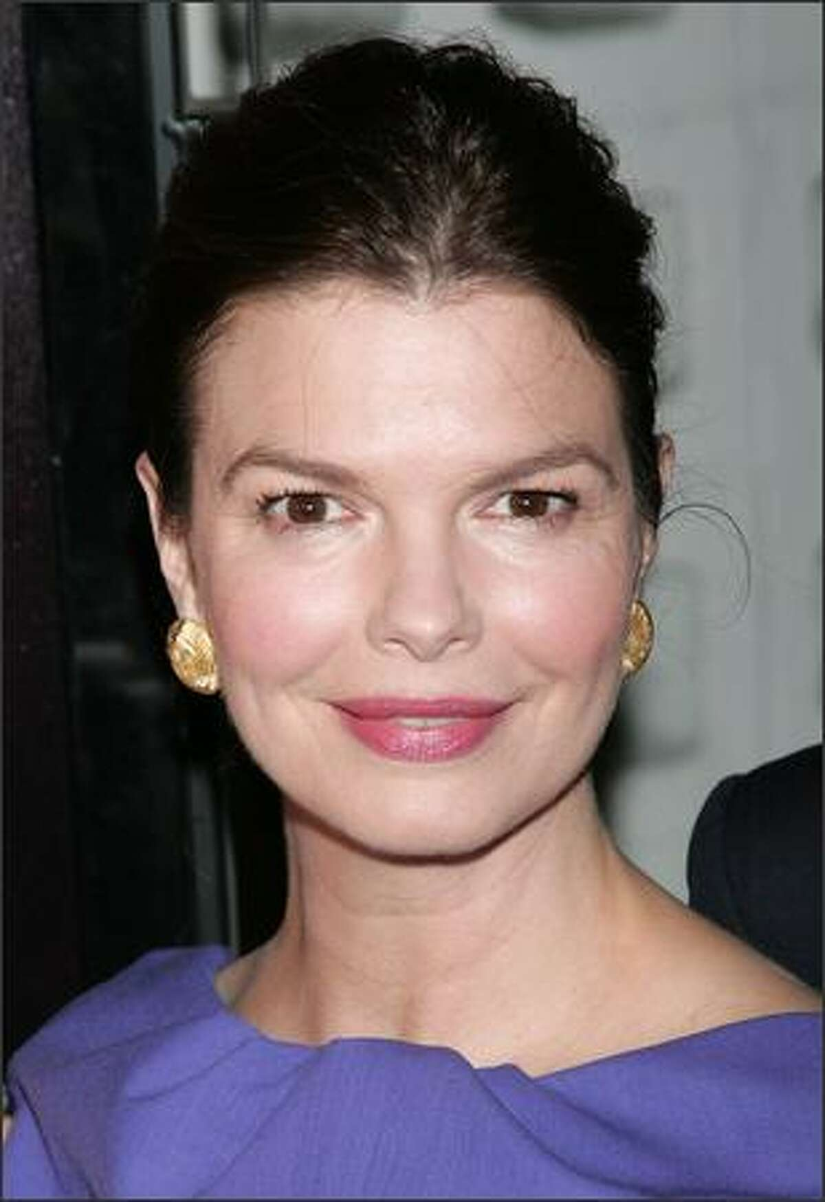 Actress Jeanne Tripplehorn attends the premiere of HBO's