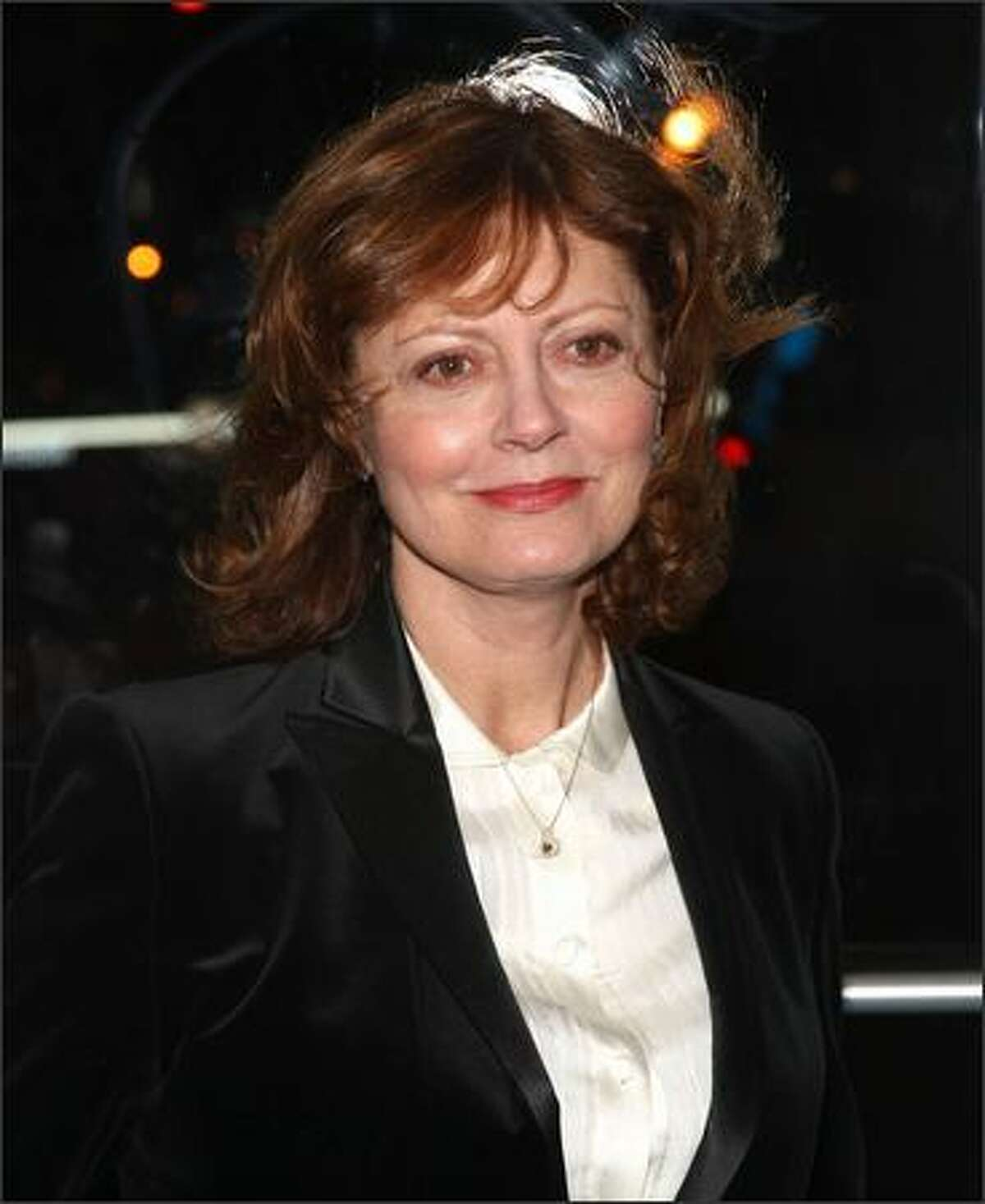 Actress Susan Sarandon attends the Creative Coalition's 2009 Inaugural Ball at the Harman Center for the Arts on Tuesday in Washington, DC.
