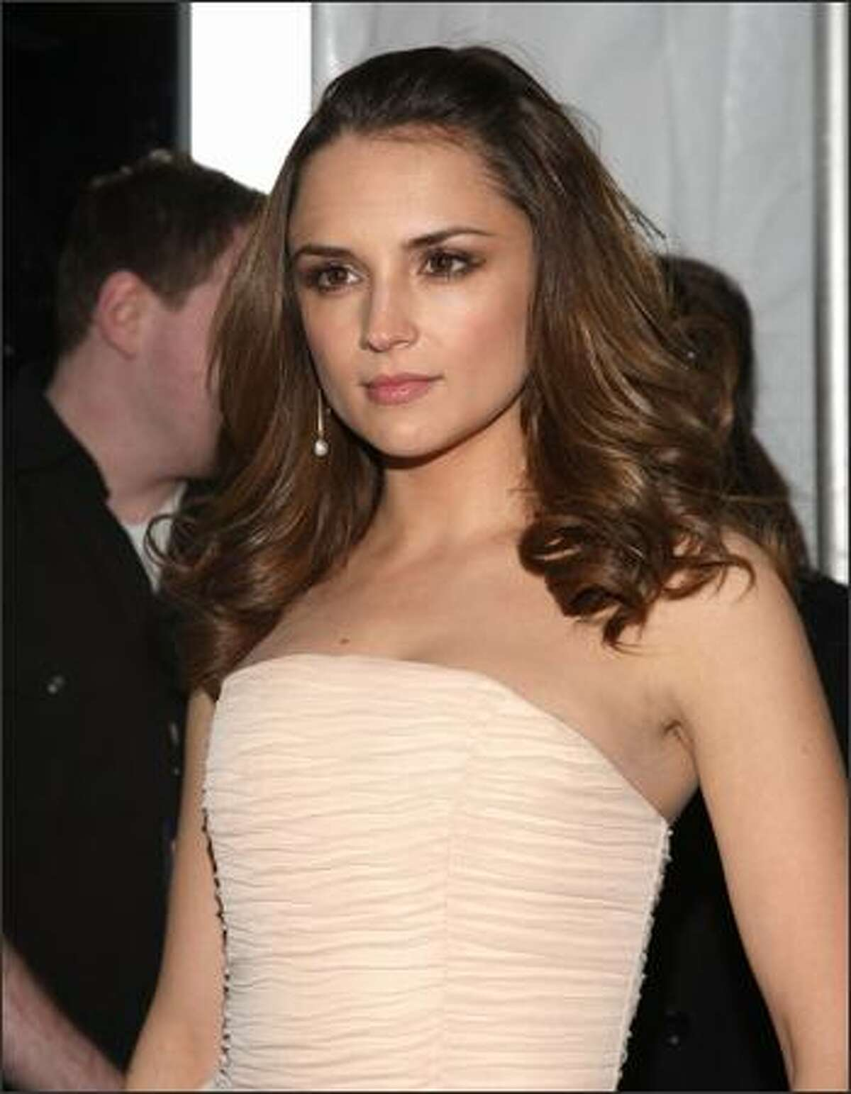 Actress Rachael Leigh Cook attends the Creative Coalition's 2009 Inaugural Ball at the Harman Center for the Arts on Tuesday in Washington, DC.