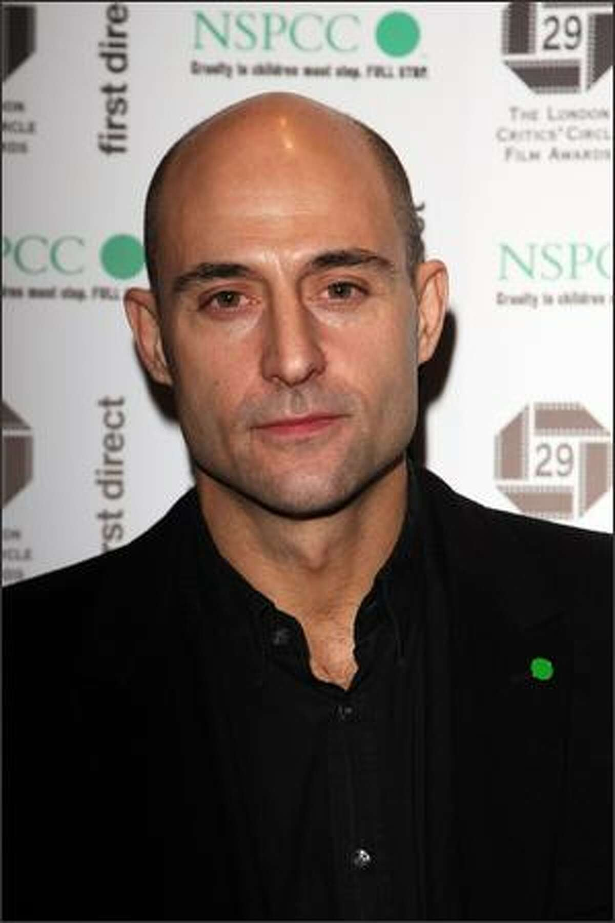 Actor Mark Strong attends The London Critics' Circle Film Awards 2009 at the Grosvenor House Hotel on Monday in London.