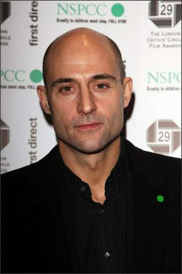 Actor Mark Strong attends The London Critics' Circle Film Awards 2009 at the Grosvenor House Hotel on Monday in London. Photo: Getty Images