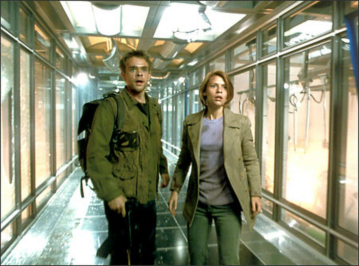 John Connor (Nick Stahl) and Kate Brewster (Claire Danes).