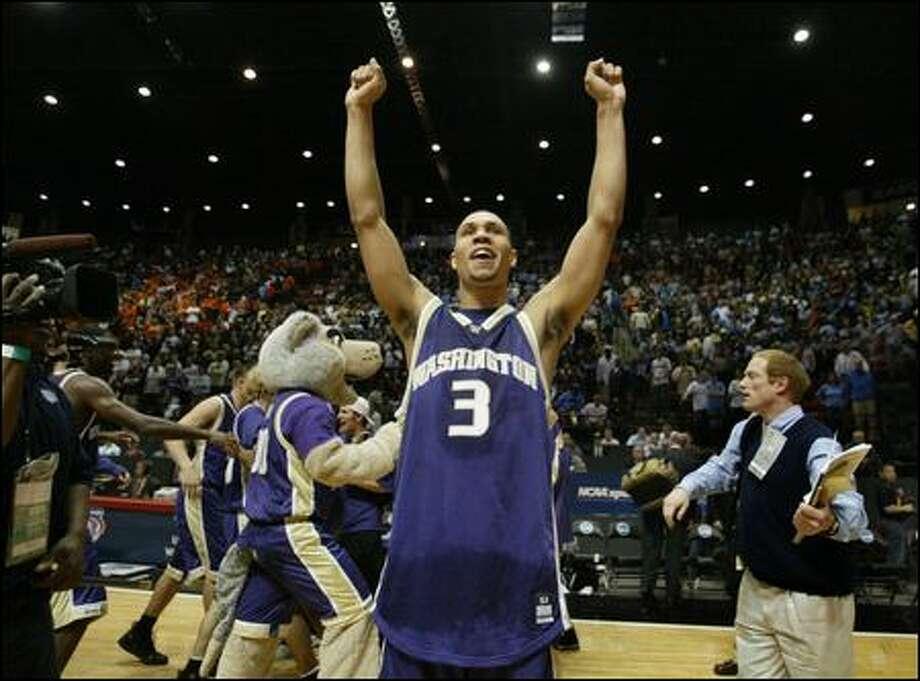 All-America guard Brandon Roy led Washington to the NCAA Sweet 16 in 2006. Photo: Scott Eklund/Seattle Post-Intelligencer
